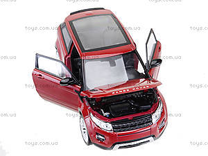 Коллекционная модель Renge Rover Evoque, 24021W, магазин игрушек