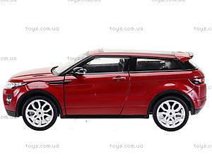 Коллекционная модель Renge Rover Evoque, 24021W, toys.com.ua