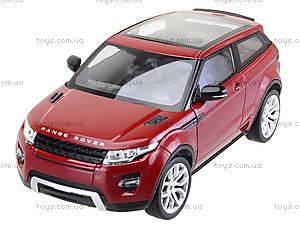 Коллекционная модель Renge Rover Evoque, 24021W, toys