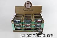 Коллекционная инерционная металлическая машинка, 99001