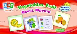 Коллекция карточек ABC: Vegetables, Fruit, 02075