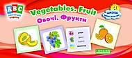 Коллекция карточек ABC: Vegetables, Fruit, 02075, фото