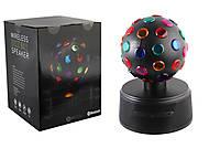 Колонка диско-шар, bluetooth, MP3, USB зарядное, SG-1507, фото