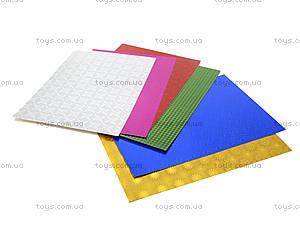 Цветной металлизированный картон A4, 50915-TK, цена