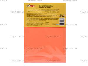 Картон цветной неоновый, двохсторонний, 50914-TK, фото