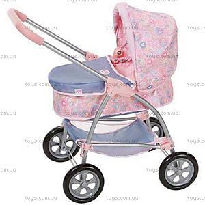 Коляска для куклы Baby Born «Деним Делюкс», 816219