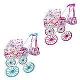 Коляска для кукол с сумкой  2 цвета, XYD-109FH, интернет магазин22 игрушки Украина