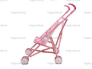 Кукольная коляска для девочек «Трость», FL6066-A, купить