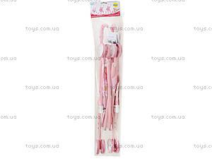 Кукольная коляска для девочек «Трость», FL6066-A, цена