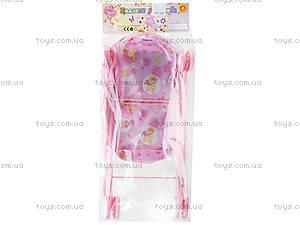 Коляска для кукол со съемной люлькой, FL8104, детские игрушки