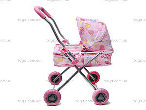 Коляска для кукол «Розовая мечта», FL8130, цена