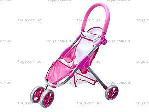 Трехколесная прогулочная коляска для кукол, FL9195, цена