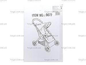 Прогулочная коляска для кукол Melogo, 9677, купить