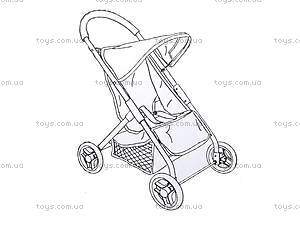 Прогулочная коляска для кукол Melogo, 9677, фото