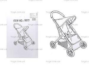 Прогулочная коляска для кукол Melogo, 9677