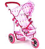 Коляска металлическая летняя розового цвета, SPL308551, доставка