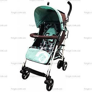 Коляска прогулочная Lucky Baby Turquoise, 516164 TURQUOISE