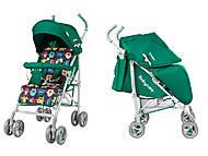 Коляска прогулочная для детей BABYCARE Rider Green , BT-SB-00021 Green, интернет магазин22 игрушки Украина