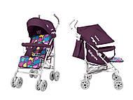 Коляска прогулочная «Walker» Purple, BT-SB-00011 Purple, игрушки