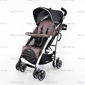 Детская прогулочная коляска Kiddy Brown, BT 1281 BROWN