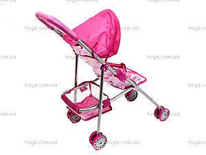 Прогулочная игрушечная коляска с козырьком, CS6811, купить