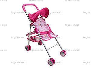 Прогулочная игрушечная коляска с козырьком, CS6811, фото