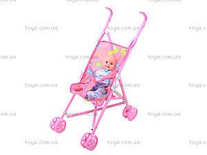 Детская коляска с пупсом, 998ES, фото
