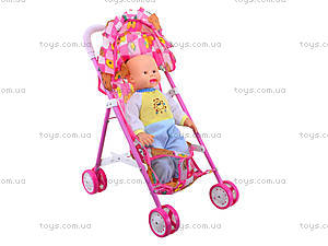 Коляска с пупсом для детей, 208CS-A2, игрушки