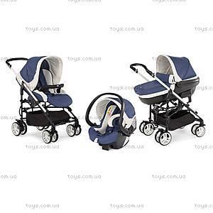 Детская коляска Trio MyCity, синяя, 79265.80