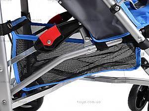 Коляска-трость детская Blue, BT-SB-0001 SEA BLUE, детские игрушки