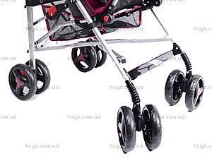 Коляска-трость детская Dark Red, BT-SB-0002 DARK RED, детские игрушки