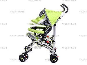Коляска-трость детская Green, BT-SB-0001 GR, детские игрушки