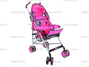 Коляска-трость детская Hot Pink, BT-SB-0001 HOT PINK, toys
