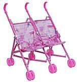 Коляска-трость для двойняшек, 886H, детские игрушки