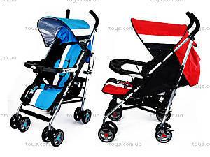 Коляска-трость Fashion, blue-red, A88