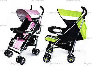 Коляска-трость Fashion, pink-green, A88, купить