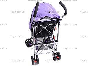 Коляска-трость с бампером, фиолетовая, DF-02, цена