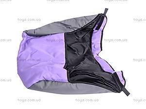 Коляска-трость с бампером, фиолетовая, DF-02, детские игрушки