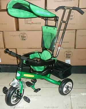 Колясочный трехколесный велосипед, LT-2011 GREEN