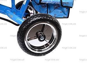 Колясочный трехколесный велосипед Profi Trike, M0449-1, цена
