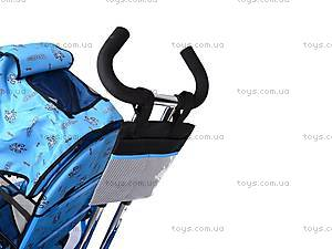 Колясочный трехколесный велосипед Profi Trike, M0449-1, детские игрушки