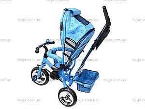 Колясочный трехколесный велосипед Profi Trike, M0449-1, магазин игрушек