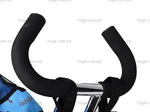 Колясочный трехколесный велосипед Profi Trike, M0449-1, toys.com.ua