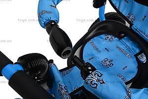 Колясочный трехколесный велосипед Profi Trike, M0449-1, іграшки