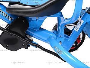 Колясочный трехколесный велосипед Profi Trike, M0449-1, доставка