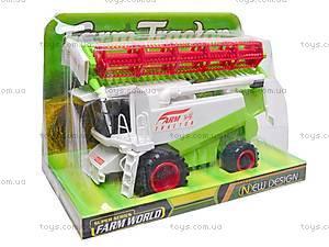 Комбайн игрушечный, 0801, фото