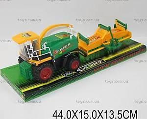 Комбайн игрушечный инерционный, 0488-89