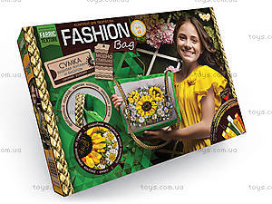 Комплект для творчества «Fashion Bag» вышивка лентами, , купить