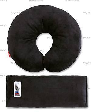 Дорожный комплект для сна Eternal Shield, черный, 4601234567862