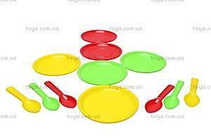 Комплект игрушечной посуды №1, Сеген, фото